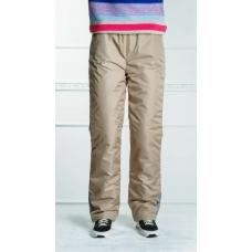 Подростковые утепленные брюки для девочки, цвет-капучино