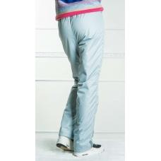Подростковые утепленные брюки для девочки, цвет-серый