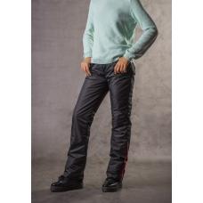 Подростковые утепленные брюки для девочки, цвет-черный
