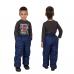 Детские зимние брюки,с утеплителем -синтепон, цвет-синий