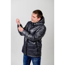 Куртка мужская демисезонная,с утеплителем,цвет-серый