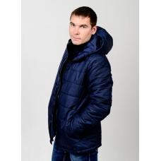 Куртка мужская демисезонная,с утеплителем,цвет-синий