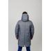 Куртка парка мужская демисезонная,с утеплителем.Цвет-серый