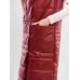 Утепленный  женский  жилет  с накладными карманами GG007D