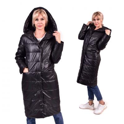 Пальто женское зимнее в стиле оверсайз