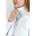 Утепленная  женская куртка-рубашка,цвет-белый|Фабрика12