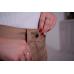 Утепленные женские брюки на поясе-молния, цвет -капучино