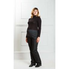 Утепленные женские брюки для беременных на утеплителе -синтепон