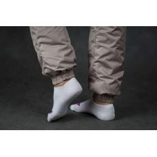 Утепленные женские брюки на манжете по щиколотке, цвет- капучино