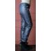 Утепленные зауженные женские брюки из глянцевой ткани с утеплителем флис,  цвет -серый