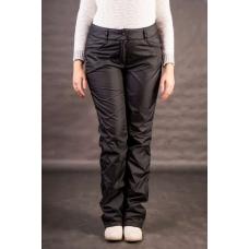 Утепленные женские брюки на флисе, пояс- молния