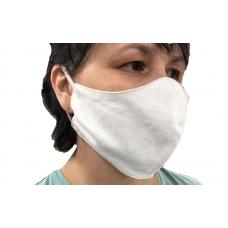 Защитная  маска, цвет - белый