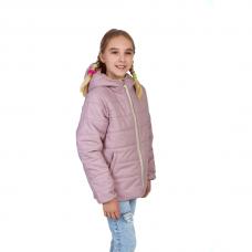 Куртка демисезонная подростковая, цвет-лаванда