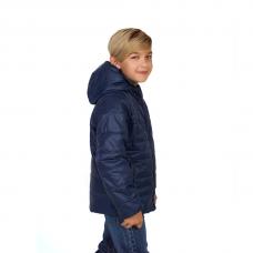 Куртка демисезонная подростковая, цвет-синий